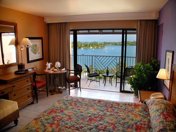 Grotto Bay Ocean View Deluxe Room