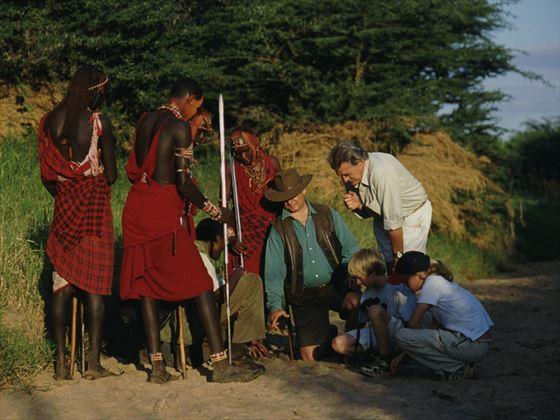Guided walk at Amboseli Porini
