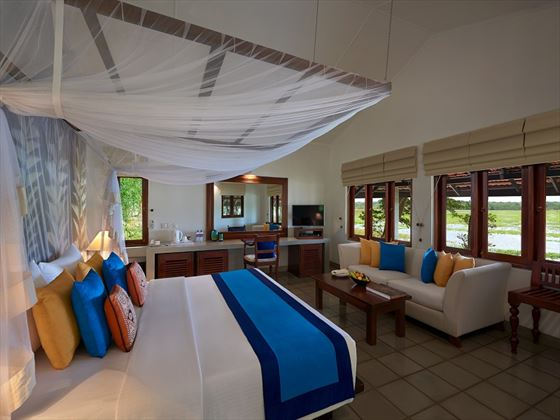 Habarana Village by Cinnamon, Kingfisher Lodge bedroom