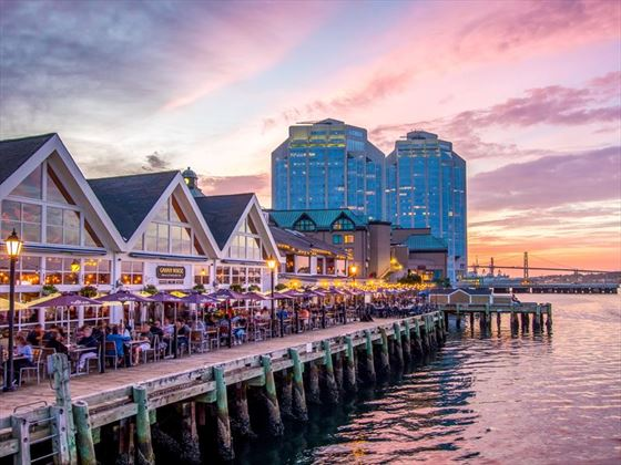 Waterfront restaurants in Halifax, Nova Scotia