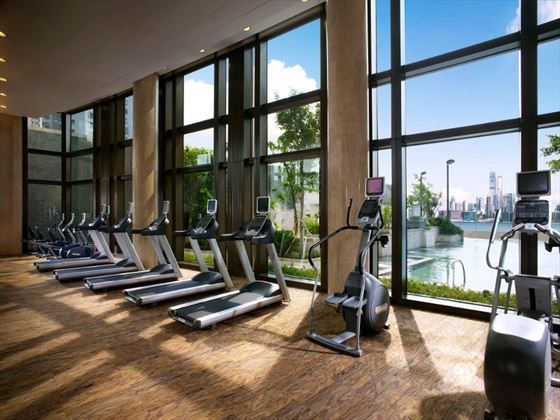 Fitness centre at Harbour Grand Hong Kong