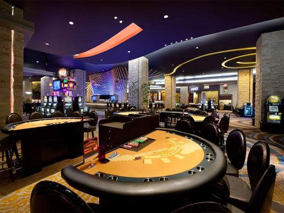 Hard Rock Hotel and Casino Black Jack table