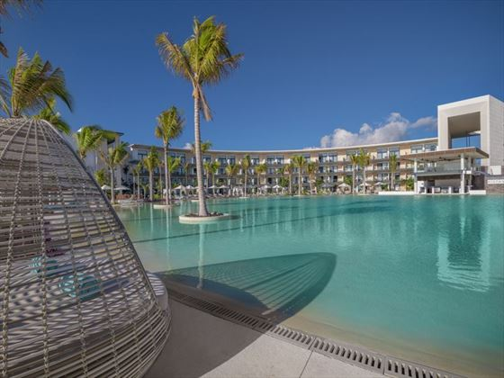 The pool at Haven Riviera