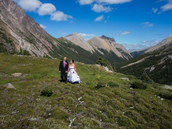 Stunning views of Banff
