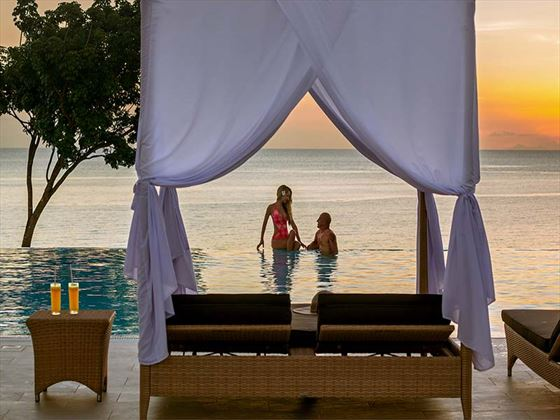 Relaxing honeymoon times at Hideaway of Nungwi Resort & Spa