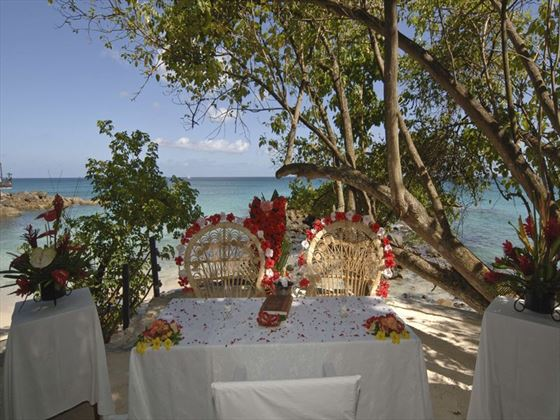 Weddings at The Hilton Seychelles