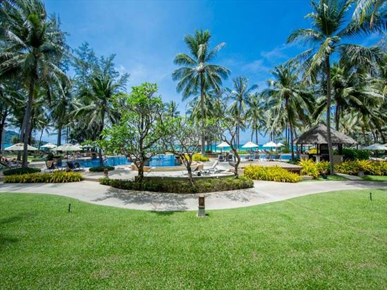Hotel Grounds at Katathani Phuket Beach Resort