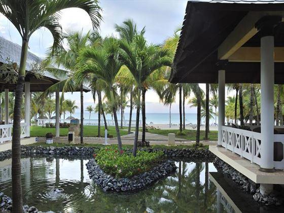 Hotel grounds at Paradisus Varadero