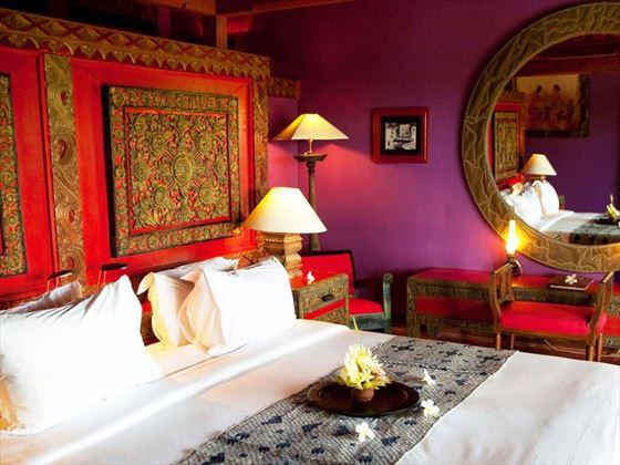 Le Mayeur bedroom at Hotel Tugu Bali, Canggu Beach