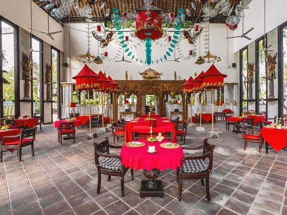 Gedong Gandrung restaurant at Hotel Tugu Lombok