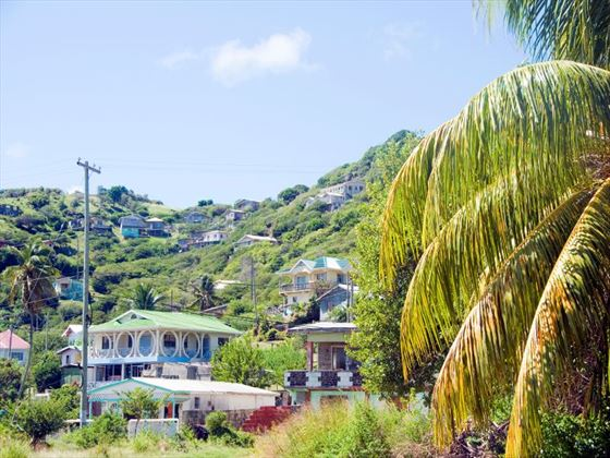 Houses in Clifton, Union Island