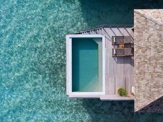 Hurawalhi Island Resort Ocean Pool Villa