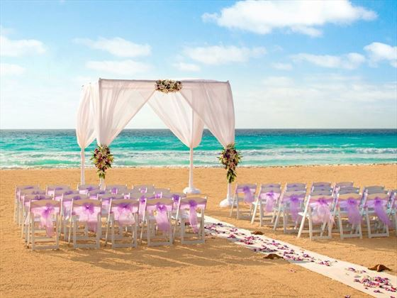 Beautiful beach weddings at Hyatt Zilara Cancun