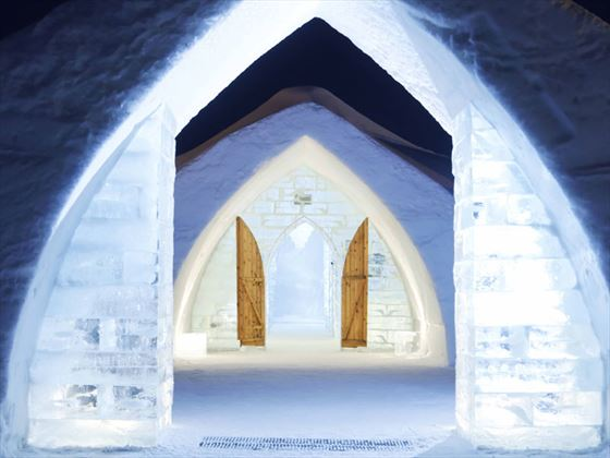 Quebec City Ice Hotel Experience Quebec Canadian Sky