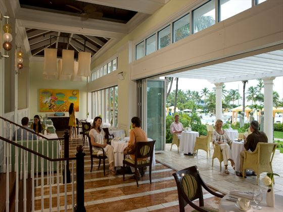 Il Cielo Italian restaurant at Sandals Emerald Bay