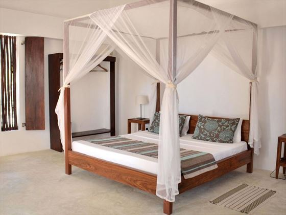 Indigo Beach Zanzibar bedroom