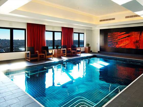 Intercontinental Sydney pool