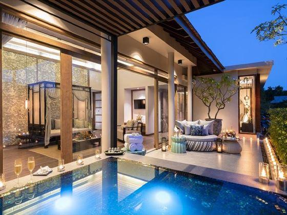 Jacuzzi Pool Suite Outdoor area