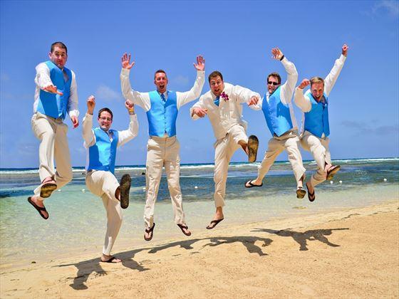 Beach celebration
