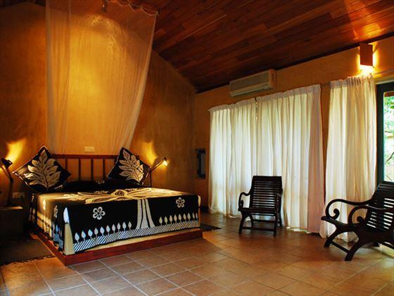 Jetwing Ayurveda Pavilions bedroom