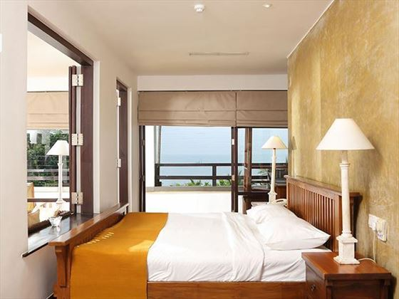 Jetwing Beach Luxury Suite bedroom