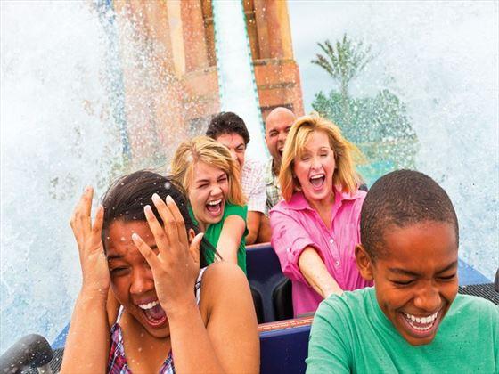 Journey to Atlantis at SeaWorld® Orlando