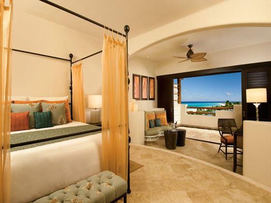 Junior Ocean View Suite at Secrets Maroma Beach Riviera Cancun