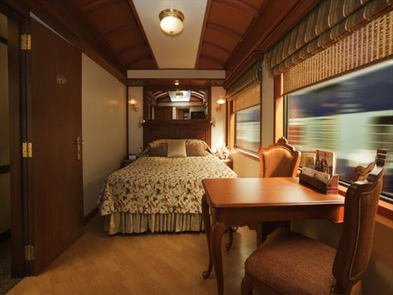 Junior Suite on the Maharajas Express