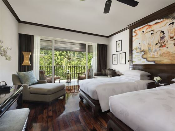 Deluxe Bedroom at JW Marriott Khao Lak