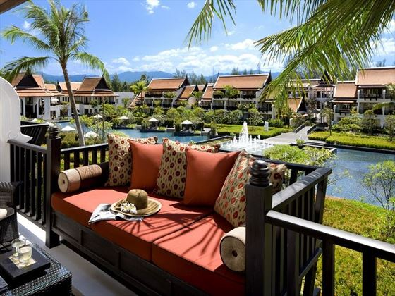 JW Marriott Khao Lak Premium Pool View balcony