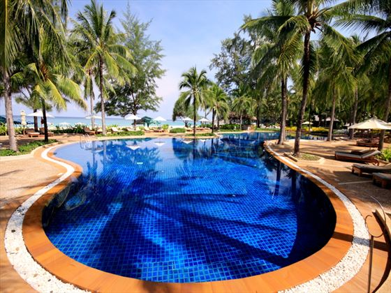 Kata Noi pool at Katathani Phuket Beach Resort Hotel