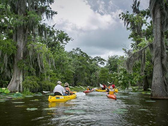 Kayaking in Louisiana