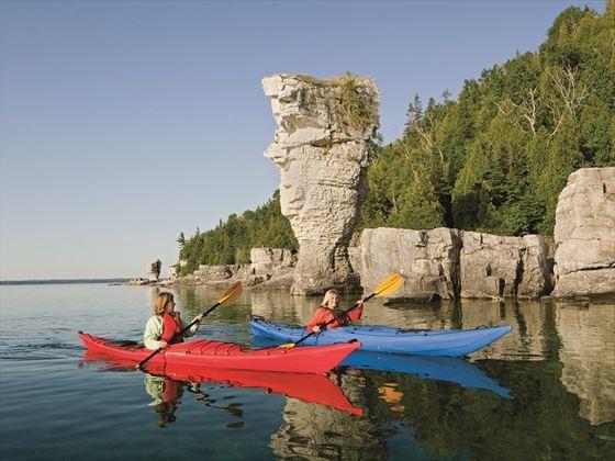 Kayaking in Ontario