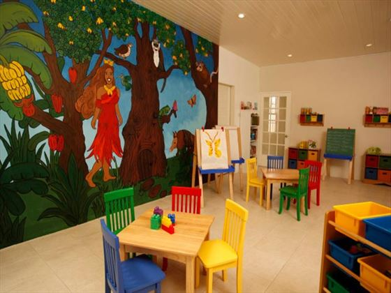 Kids club and playroom at Spice Island