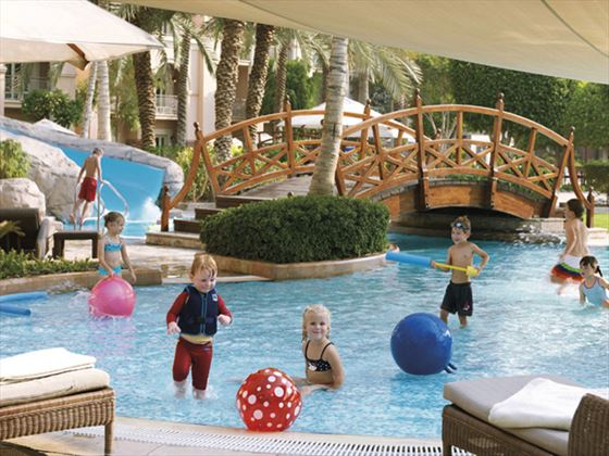 Kids swimming pool area at Ritz Carlton