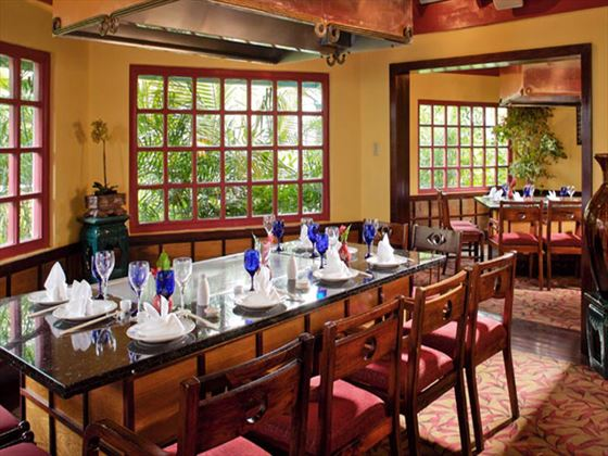Kimonos restaurant at Sandals Negril Beach Resort & Spa
