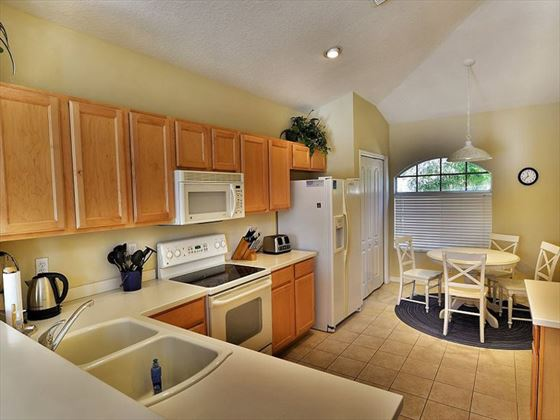 Kitchen at Sarasota Bradenton Area Pool Homes