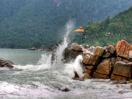Koh Phangan coastline