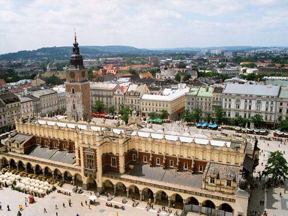 Krakow Cloth Market Square Poland