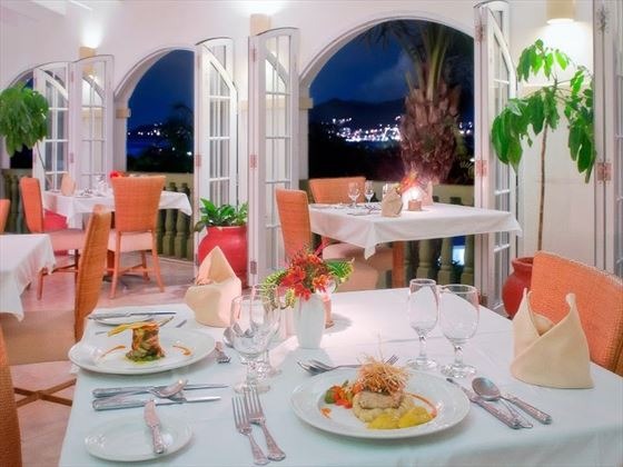 La Belle Creole restaurant at Blue Horizons