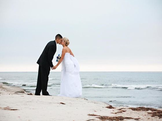 Weddings on La Jolla beach