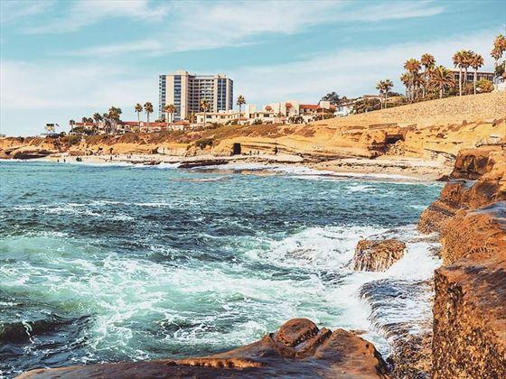 La Jolla waves, California