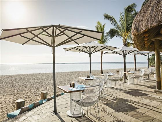 Le Morne Beach Bar at La Pirogue