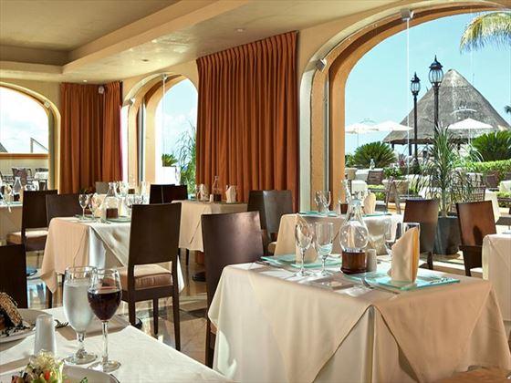 La Trattoria Italian restaurant at Aventura Spa Palace
