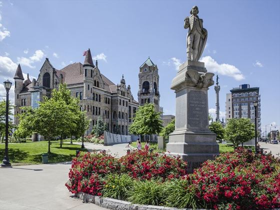 Lackawanna County Courthouse Square, Pennsylvania