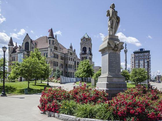 Lackawanna County Courthouse Square, Pennsylvania