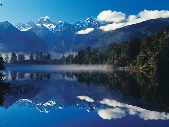 Lake Matheson, near Fox Glacier