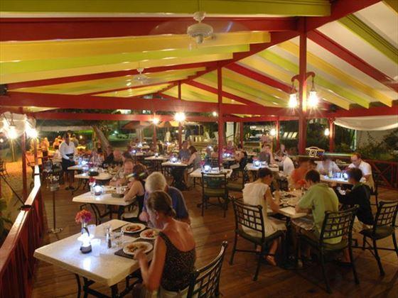 Lanterns restaurant at Bougainvillea Beach Resort