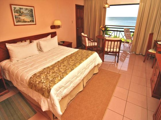 Le Grand Courlan Spa Resort Deluxe Ocean View room