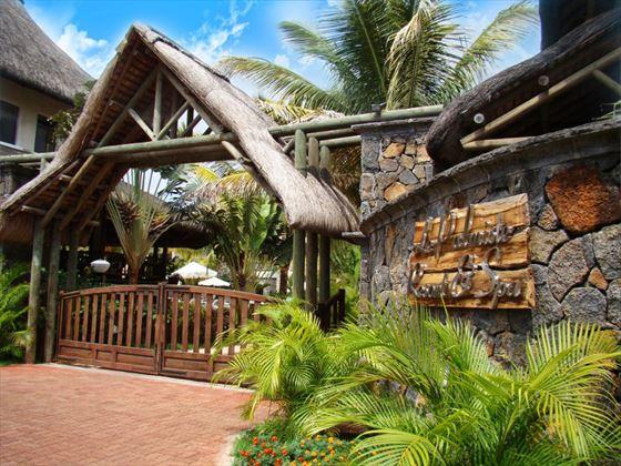 Le Palmiste entrance